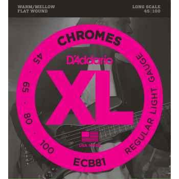D´addario ECB81 Chromes Bass cuerdas de bajo